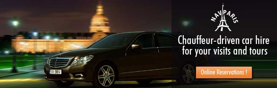 Chauffeur-driven car hire for your visits and tours