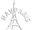 Paris chauffeur-driven car hire – NavParis Logo